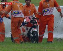 Video Detik-detik Kecelakaan Afridza Munandar, Pembalap Indonesia yang Meninggal di MotoGP Malaysia 2019