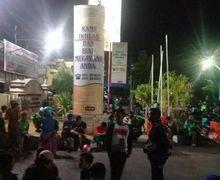 Makassar Geger, Puluhan Driver Ojol Kepung Mapolrestabes Makassar, Oknum Dishub Jadi Biang Kerok
