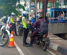 Waspada, Polisi Diam-diam Sudah Tindak Pelanggar Jalur Sepeda di Jakarta