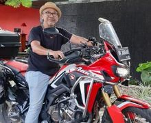 Usia Bukan Halangan, Lelaki 69 Tahun Asal Bali Ini Siap Keliling Dunia Naik Motor