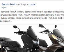 Grup Honda PCX 150 Kembali Diguncang Kehadiran All New Yamaha NMAX, Pemilik Berharap PCX 150 Facelift Segera Muncul
