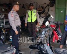 Nah Lo, Motor Remaja Ini Lagi di Bengkel Mendadak Diambil Paksa dan Ditilang Polisi, Ini Alasannya