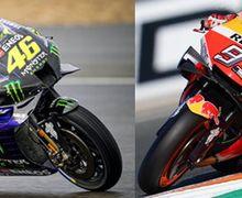 Nama Marc Marquez Baru Valentino Rossi, Video Pembalap MotoGP dan Legenda Ditanya Siapa Paling Hebat Ngerem