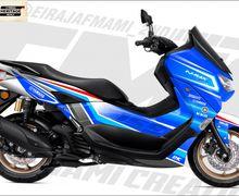 Inspirasi Modifikasi Digital Custom Competition All New Yamaha NMAX 155, Ada Livery Legenda!