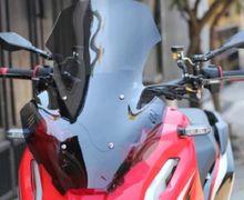 Tampang Honda ADV150 Jadi Makin Gagah, Windshield Aftermarket Banyak Dijual, Harganya Murah