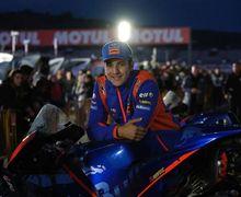 Pose di Atas Motor Yamaha Carlos Checa Saat Bayi, Begini Perasaan Iker Lecuona Tampil di MotoGP