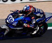 Ditunggu Gak Nongol di Jerez, Pembalap Indonesia Galang Hendra Pratama Tes Motor R6 Bareng TIm Barunya di Sini