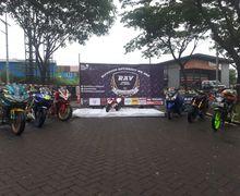 Gokil, Ratusan Bikers Serbu Gelaran Anniversary ke-2 Riders All Variant  (RAV) di Bekasi