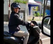 Pengendara Yamaha NMAX Arogan, Senggol Spion Mobil Langsung Kabur, Ditegur  Pengemudi Mobil Malah Makin Bar-bar