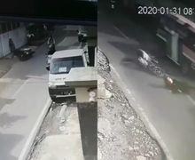 Video Pemotor Ngebut di Bandung Senggol Pedagang Makanan, Korban Sampai Terseret 4 Meter