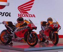 Mantap! Repsol Honda Team Gak Cuma Launching di Indonesia, Ternyata Logo Ini Masih Ada Di Motor MotoGP Marc Marquez