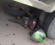 Kurang Hati-hati, Pemotor Tabrak Body Truk Saat Ingin Menyalip, Langsung Terpental Hingga Tewas