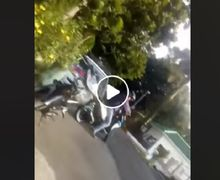 Geger Oknum Polisi Lakukan Pungli ke Pemotor, Uang Rp 50 Ribu Langsung Dilempar ke Dalam Mobil