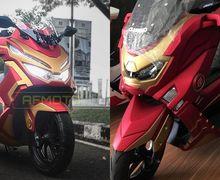 Pertama di Dunia! Modifikasi Honda PCX 150 Marvel Siap Tantang Yamaha NMAX Ironmax, Segini Biayanya