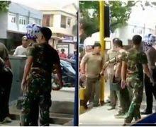 Mencekam, Polisi Langsung Gemetar Gak Berkutik Ditodong Pistol Oknum Anggota TNI, Gak Terima Anaknya Ditilang