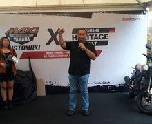 Meriah, Kadispora Sumut Buka Customaxi x Yamaha Heritage Built Medan