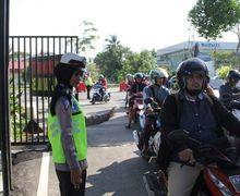Gokil, Puluhan Sepeda Motor Enggak Bisa Menghindar, 37 Pemotor Ditilang Dalam Razia Kendaraan di Palangkaraya