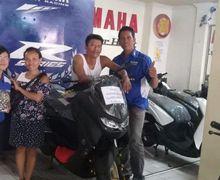 Bali Geger, Sepasang Suami Istri Beli Yamaha All New NMAX 2020 Pakai Uang Koin Secara Tunai, Jadi Kado Indah Buat Suami