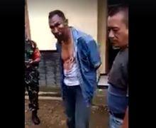 Darah Mengucur 4 Terduga Debt Collector Digiring Polisi Babak Belur Setelah Diamuk Masa