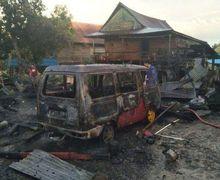Pertamini Kembali Makan Korban, Mobil Suzuki Futura Hangus Terbakar, Pemilik Tersambar Percikan Api