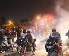 Parah Banget, Diminta Lockdown Akibat Virus Corona, Sejumlah Remaja Masih Nekat Gelar Balapan Liar, Polisi Langsung Bertindak Tegas