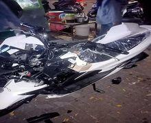 Hati Serasa Teriris, Honda PCX 150 Baru Langsung Remuk Dicium Yamaha V-Ixion, Dealer Resmi Malah Bungkam
