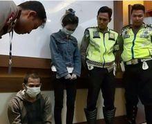 Sempat Kerjar-kejaran dan Saling Salip Ala MotoGP, Akhirnya Polisi Berhasil Amankan Pasutri Pembawa Sabu
