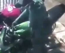 Berhasil Ditangkap! Pelaku Curanmor di Cilincing Jakarta Barat yang Gondol Kawasaki Ninja R, Eh yang Lebih Mahal Dicuekin