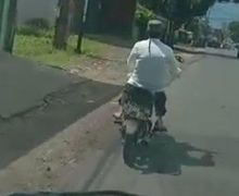 Viral Video Positif Pilih Naik Motor Sendiri daripada Naik Ambulance, Berakhir Begini!