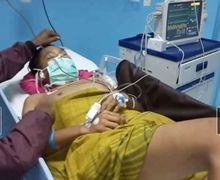 Biadab, Sedang Nunggu SPBU Buka Disatroni  Begal Bermotor Punggung Ditusuk Sampe Koma di Ruang ICU