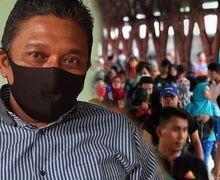 Kalau Naik Motor Juga Pasti Disuruh Putar Balik, Pria Ini Nekat Mudik Jalan Kaki Jakarta-Solo