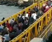 Virus Corona Dijamin Ketawa, Mudik Lebaran 2020 Dilarang, Ratusan Orang Terciduk Padati Pelabuhan Ini bro