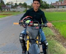 Enggak Nyangka, Pemain Sepak Bola Bhayangkara FC Ini Hobi Bermotor Sampai Punya Motor Drag