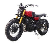 Modifikasi Kawasaki Z250 Scrambler, Paling Cocok Buat Harian