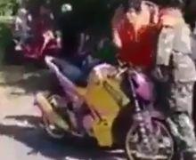 Viral! Video Pemotor Yamaha V-ixion Berteriak Histeris Saat Diberhentikan Polisi, Gak Taunya Begini, Warganet:Hobi Kami Nangis