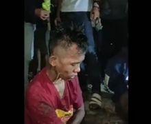 Gagal Beraksi Karena Korbannya Kabur, Dua Pelaku Begal Sadis Tertunduk Menahan Sakit Setelah Dikepung Warga
