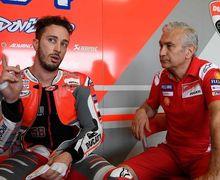 Terang-terangan, Bos Tim Ducati Kecewa Dengan Andrea Dovizioso