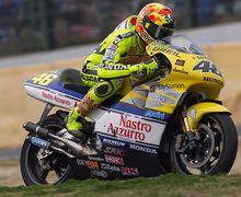 Baru Sadar Cuma Valentino Rossi Pembalap MotoGP yang Pernah Ngerasain Motor GP 500 2-Tak