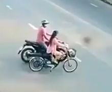 Rasain! Viral Video Pemotor Begal Payudara Cewek Bersepeda, Endingnya Babak Belur Diamuk Warga
