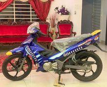 Wow Jual Motor Bebek Yamaha Jadul Edisi Valentino Rossi Laku Setara 10 All New NMAX