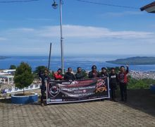 Keren Abis, Klub Motor Honda ADV Indonesia (HAI) Chapter Makassar Eksplorasi Keindahan Alam Sulawesi Barat