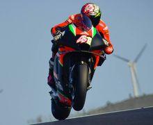 Mengejutkan, Hasil Tes MotoGP Portimao, Duo Aprilia Tercepat, Jorge Lorenzo Cuma di Posisi Segini