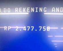 Hari Ini Cek Saldo ATM Bantuan Pemerintah (BLT) Rp 2,4 Juta Cair untuk 12,4 Juta Orang Penerima Final