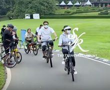 Muter-muter Istana Bogor, Suami Artis Syahrini Kecelakaan Saat Naik Sepeda