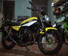 Modifikasi Yamaha RX-King Livery Valentino Rossi, Dulunya Berantakan