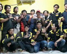 Mantul, Komunitas Satria F150  (KSF) Merayakan Ultah Sewindu-nya Dengan Mengusung Semangat Satria Tanpa Batas
