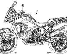 Bocor! Gambar Paten KTM 1290 Super Adventure 2021, Begini Perubahannya