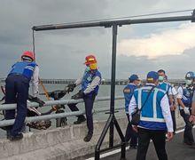 Bikin Geger Pemotor Nyebur ke Laut Tol Bali Mandara, Begini Penjelasan Polisi