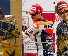 Ternyata Valentino Rossi Pertama Menang Banyak Satu Musim Tapi Gak Juara Dunia MotoGP