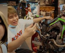 Gokil, Segini Biaya Modifikasi Honda CRF 150L Milik Artis Billy Syahputra yang Dibeliin Amanda Manopo